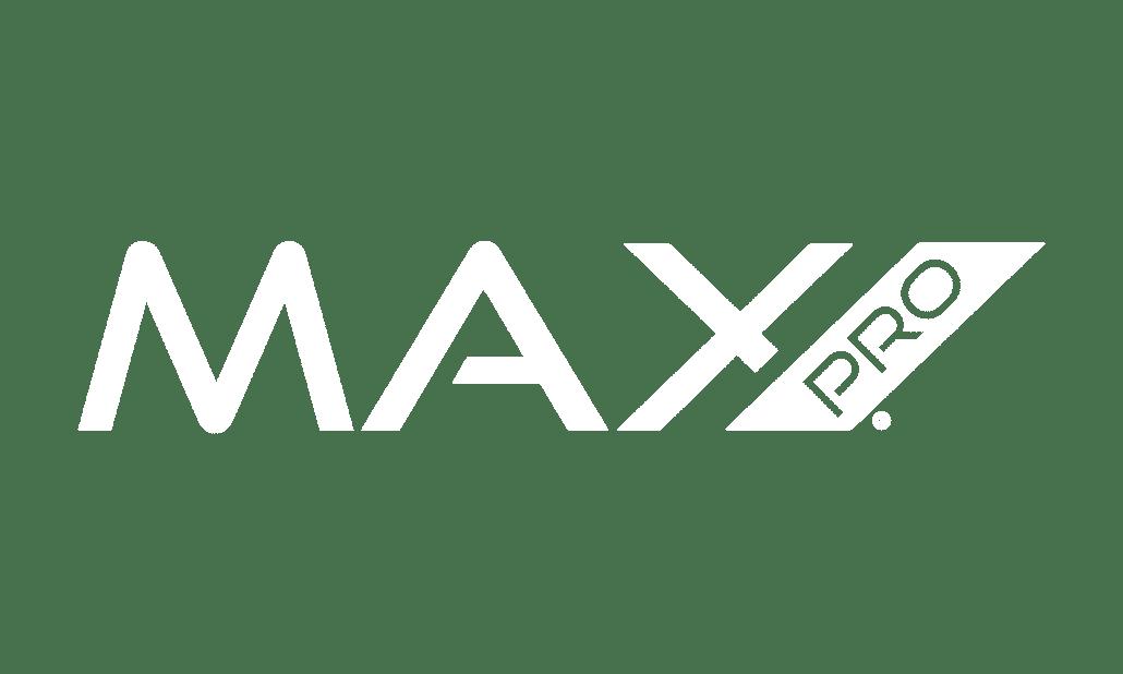 Max Pro Logo Wit