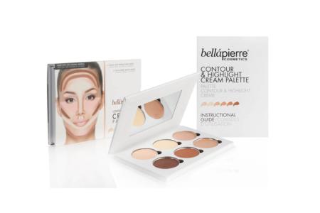 Bellápierre Contour & Highlight Cream Palette