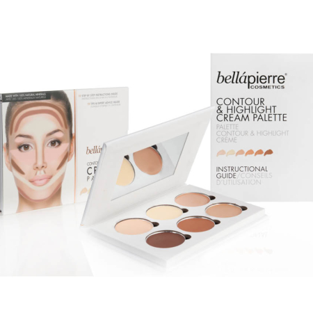 Bellápierre Contour & Highlight Cream Palette