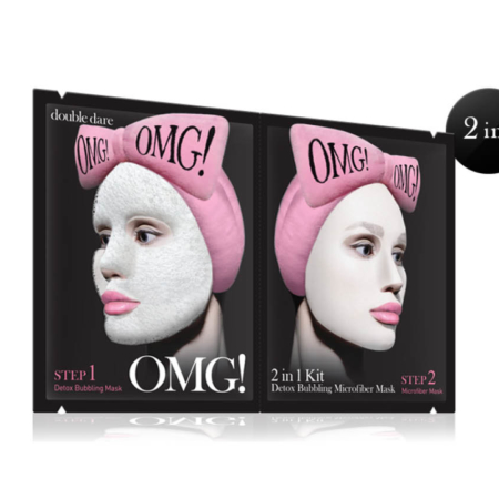 Double Dare OMG! 2in1 Kit Detox Bubbling Mask
