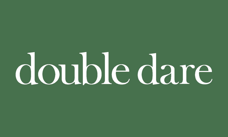 Double Dare Logo wit