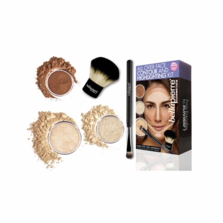 all over face contour and highlighting kit bellapierre
