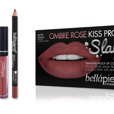 Bellapierre Kiss Proof Slay Kit Ombre Rose