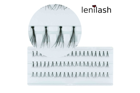 Leni Lashes Flare Short Black