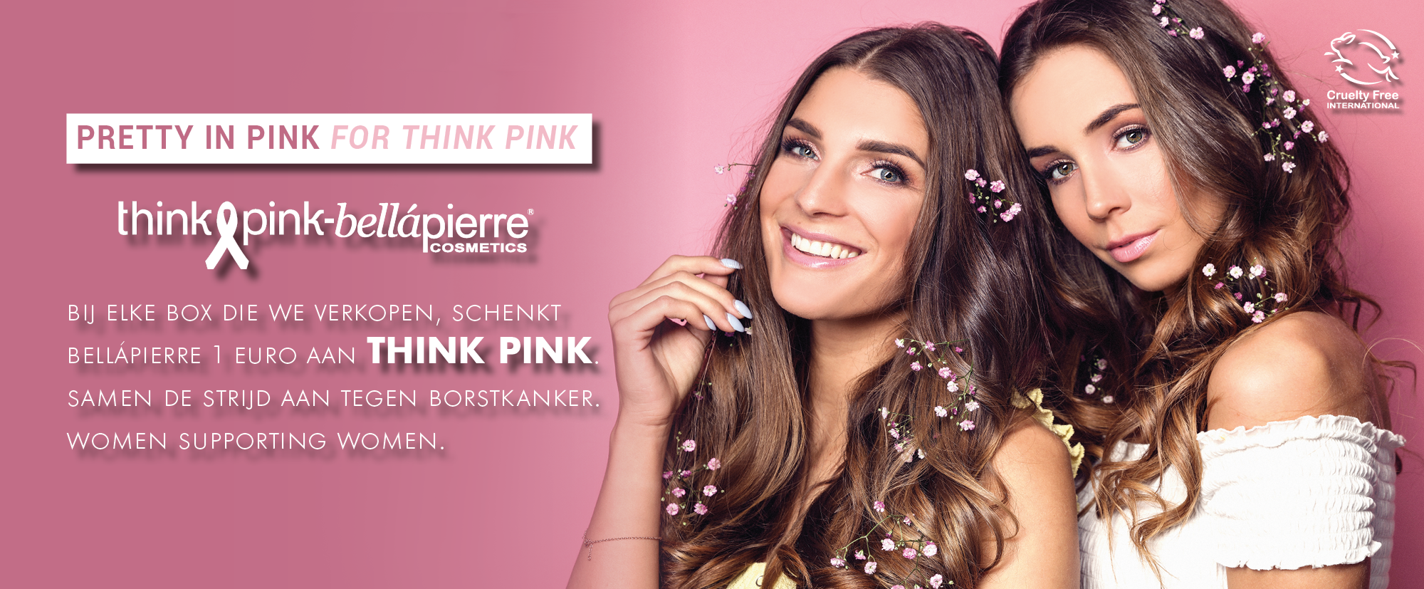 BELLAPIERRE PRETTY IN PINK FOR THINK PINK