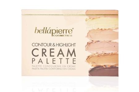 Bellapierre big Contouring cream palette
