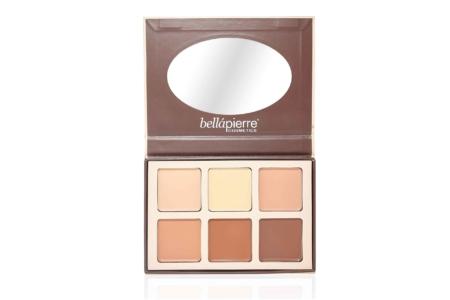 Bellapierre big Contouring cream palette3
