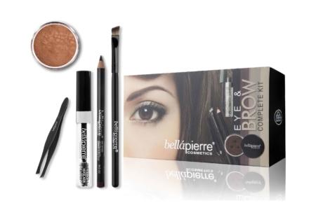 Bellapierre eye & brow kit complete maronne