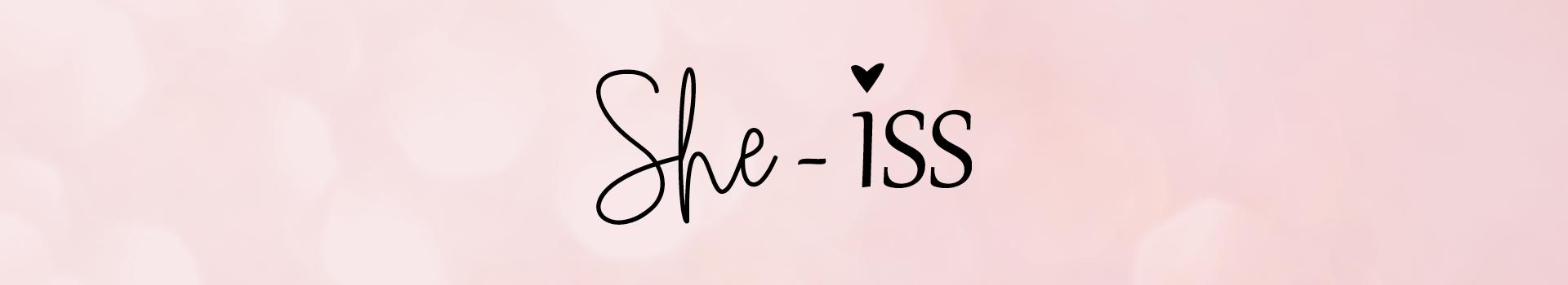 Banner Merk She-iss